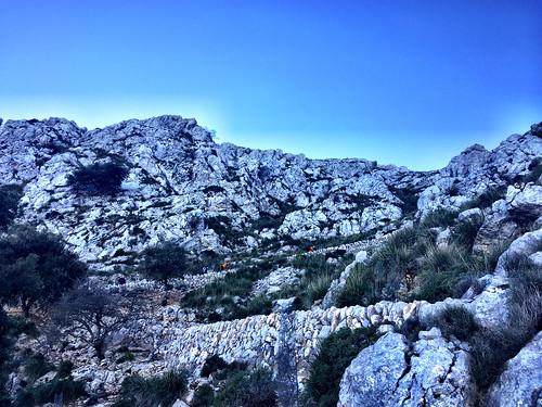De excursión al puig Galileu en mallorca