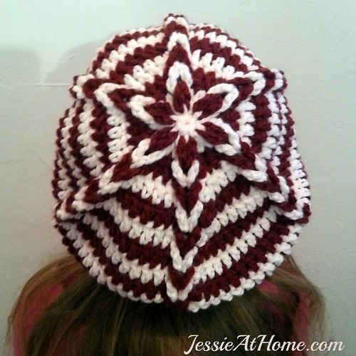 Delia Slouch Hat Free Crochet Pattern Jessie At Home Awesome Rasta Hat Crochet Pattern