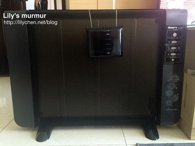 「艾美特電膜式電暖器」猛一看很像電視,我爸來我家時還以為我們買新電視!