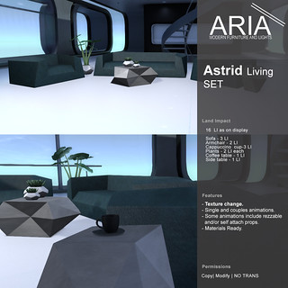 [ARIA] Astrid Living Set @ Uber!