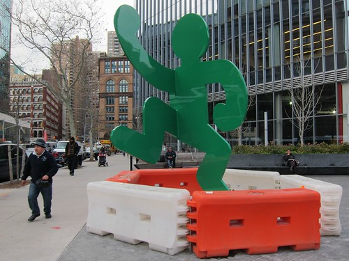 Keith Haring at 51 Astor Place