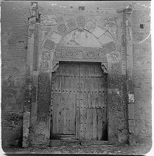 Palacio de Inés de Ayala en 1904. Fotografía de Augusto T. Arcimis © Fototeca del IPCE, MECD. Signatura ARC-0720_P