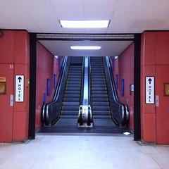 Escalator to Hotel