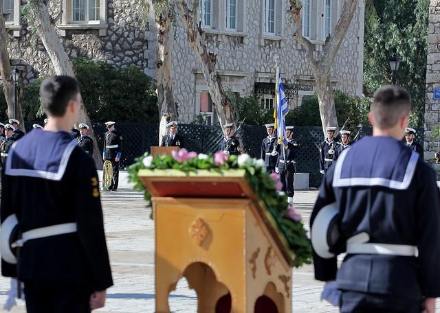 Παρουσία ΥΕΘΑ Νίκου Δένδια στον εορτασμό του Προστάτη του Πολεμικού Ναυτικού Aγ. Νικόλαου στη ΣΝΔ