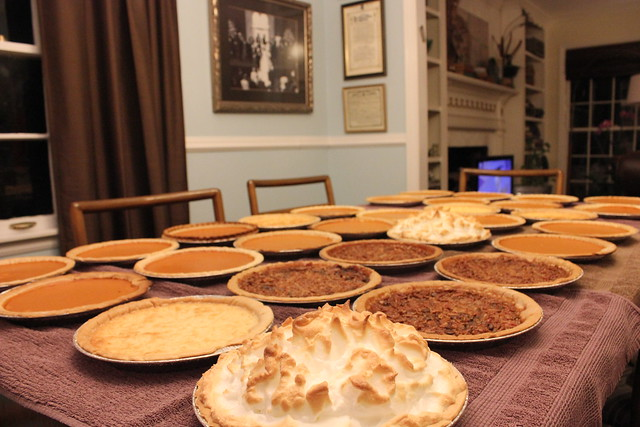 Thanksgiving Pies, 2014
