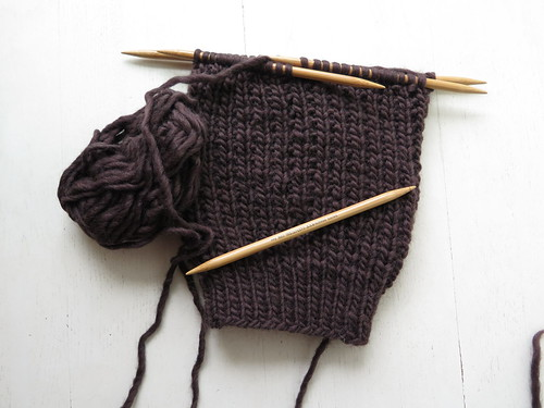 Unfinished knitting projects