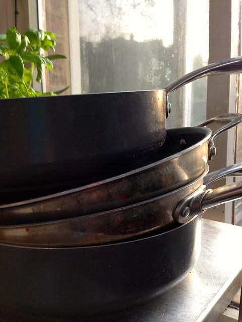 green pans