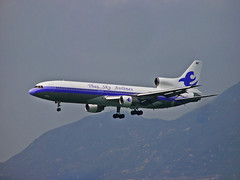 HS-AXA Lockheed L1011 TriStar of Thai Sky Airlines