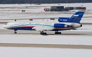Russian Federation Open Skies Tupolev Tu-154M/LK-1 RF--85655