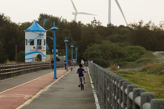 自行車道終點