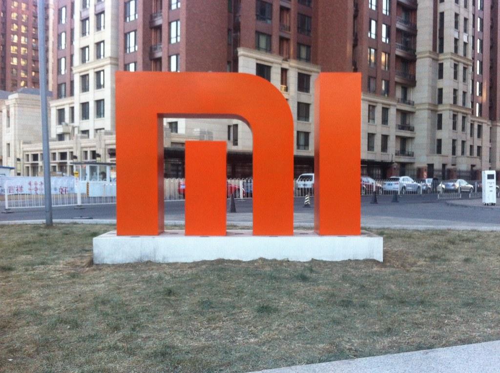 Xiaomi logo sign