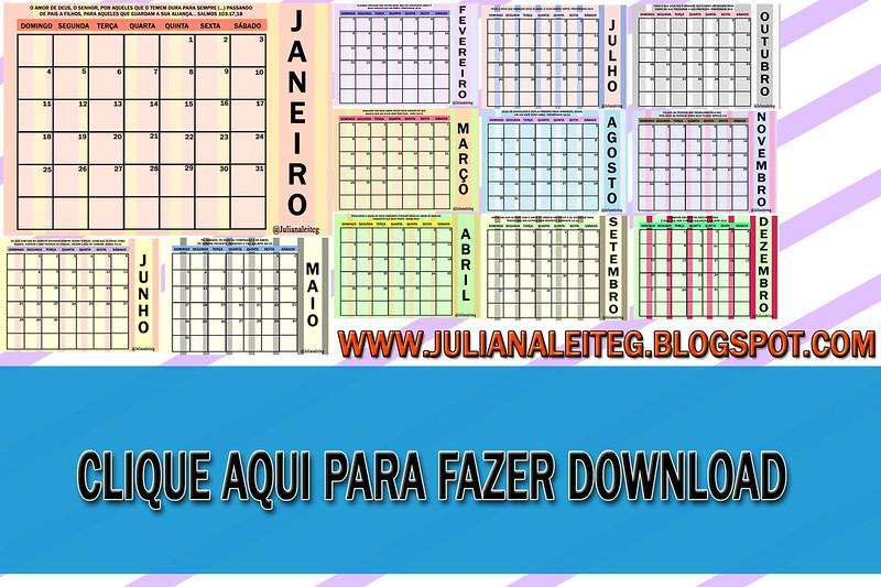 clique aqui para fazer o download do calendário 2015 planner juliana leite blog
