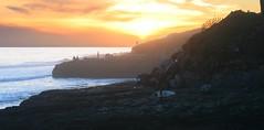 Santa Cruz West Cliff Sunset