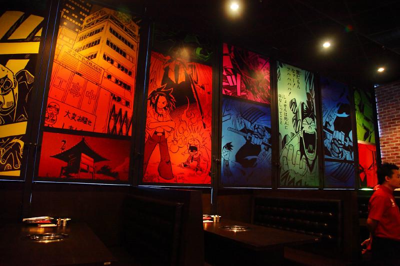 Bbq Restaurant Wall Decor : Rocku yakiniku japanese bbq buffet pavilion