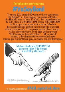 Mensaje Xavier Bonilla Bonil