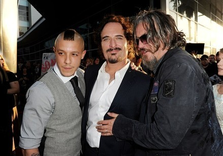 Theo Rossi,Kim Coates and Tommy Flanagan