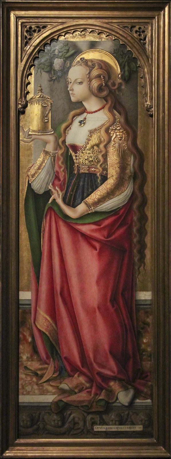 Mary Magdalene, ca.1480, Carlo Crivelli