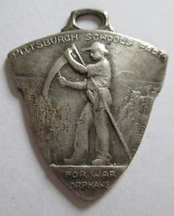 Pittsburgh School Farm for WWI Orphans medal reverse