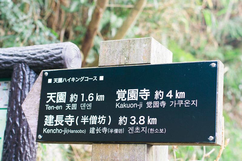 Tenen Hiking Trail in Kamakura
