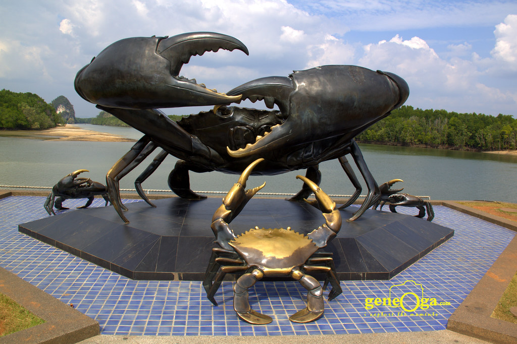 Crab Monument, Krabi