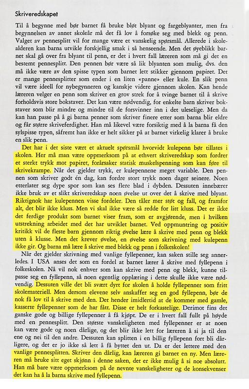 Teknologifrykt i fra boka Fagmetodikk for folkeskolen, 1963