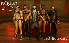 Poseology Poses - Last Boundary (M)