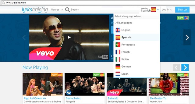 opi kieliä musiikkivideoista