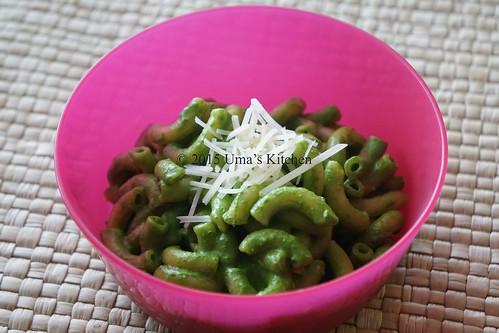 Spinach pasta 5