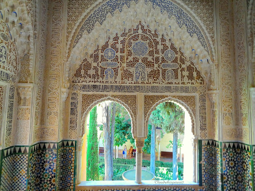 Amazing Bay Window in the Sultana Bedroom - Alhambra, Granada, Spain