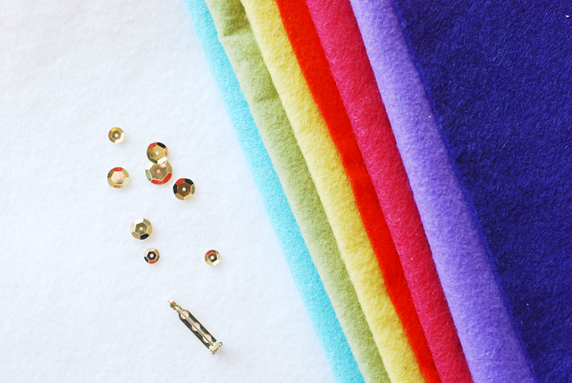 rainbow pin supplies