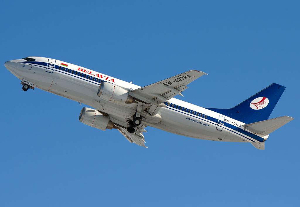 EW-407PA - B733 - Belavia