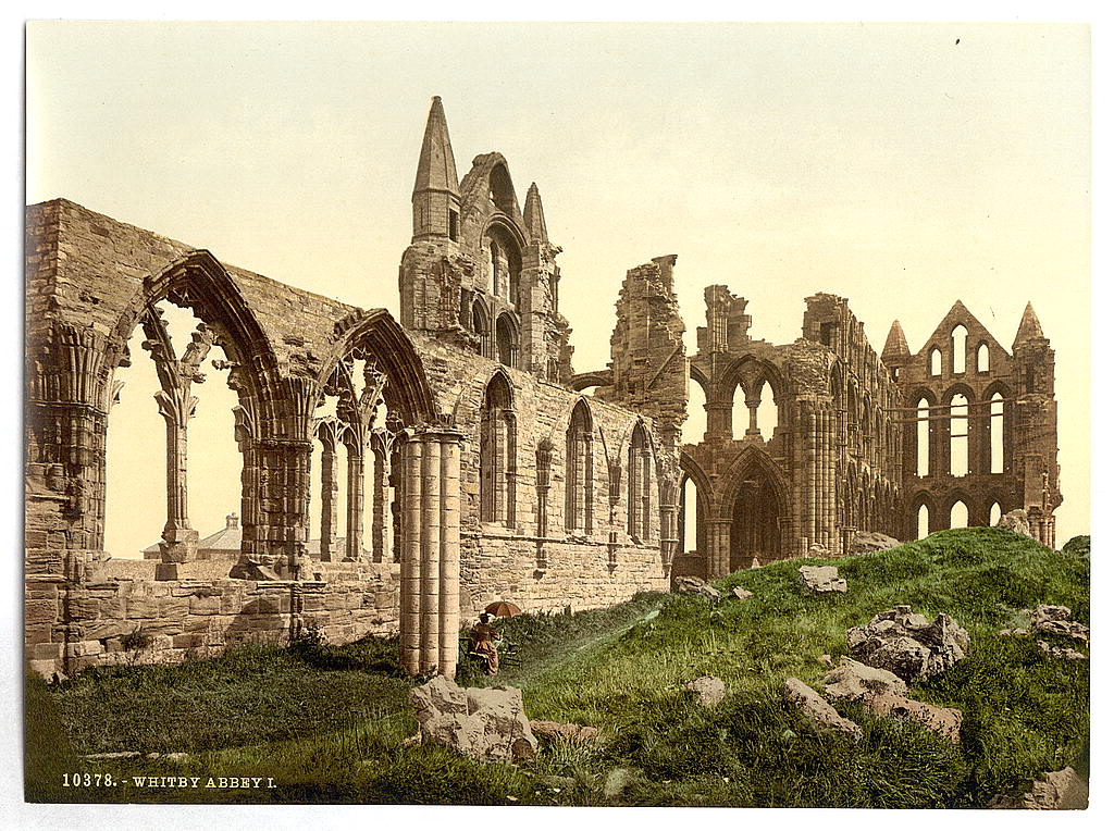 [Whitby, the abbey, I., Yorkshire, England] (LOC)