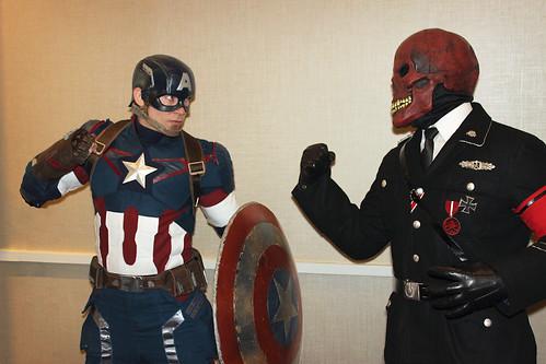 Cap vs. Red Skull