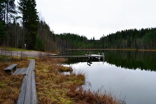 november autumn lake reflection eh finland geotagged fin hämeenlinna 2011 häme tavastehus kantahäme 201111 etelähäme 20111112 tavastland kahtoilammi geo:lat=6100499000 geo:lon=2440581500