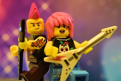 New Rock'N Roll Duo: Rock and Rose