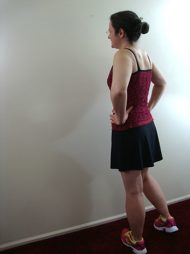 S9776 tank + Jalie 3025 skirt + Jalie 2796 shorts