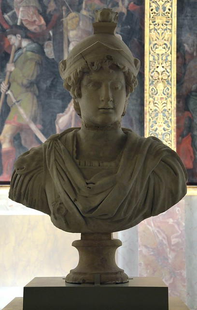 Bust of Antinous, Hampton Court Palace