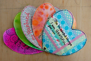 Week 10 - Layers of my Heart - Hearts