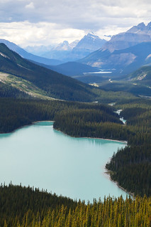 Peyto Lake, Banff National Park, Alberta