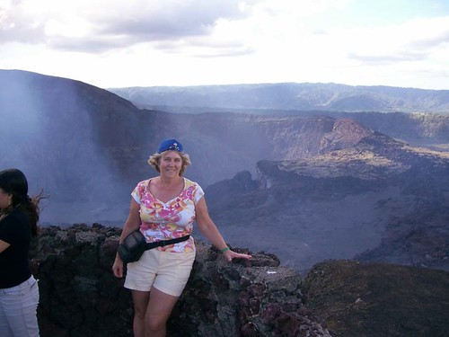 hanging out at the Masaya Volcano in Nicaragua