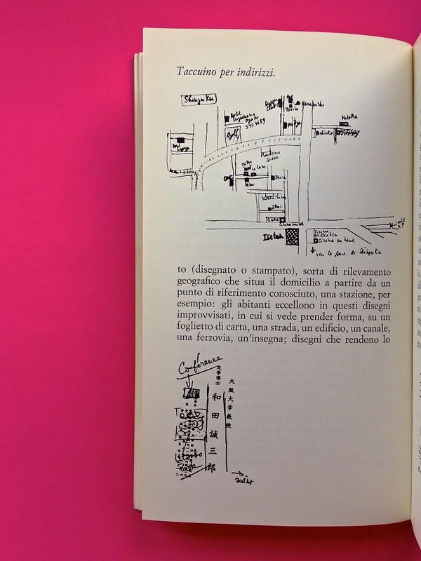 Roland Barthes, L'impero dei segni. Einaudi 1984. Illustrazioni b/n nel corpo del testo, a pag. 44 (part.), 1