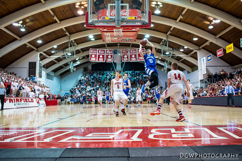 Fairfield Prep vs. Fairfield Ludlowe - High School Basketball