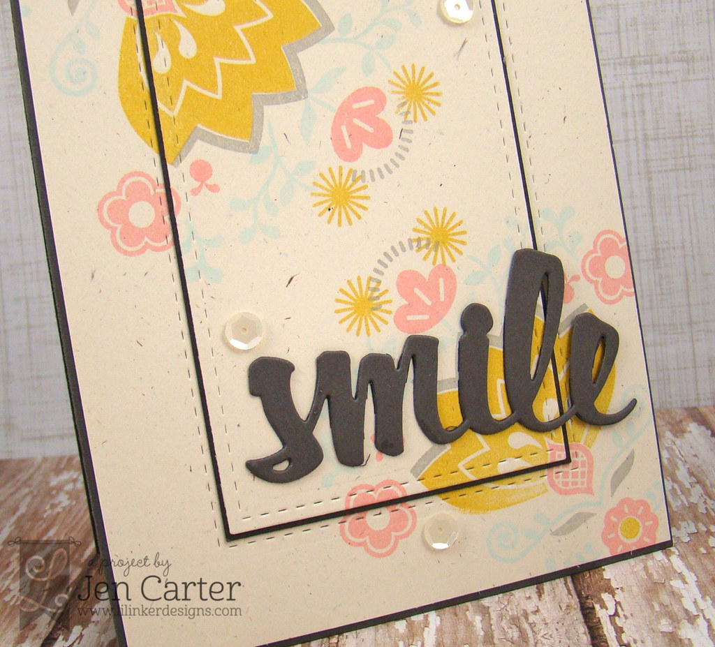 Jen Carter LID Double Stitched Rect Smile Closeup wm