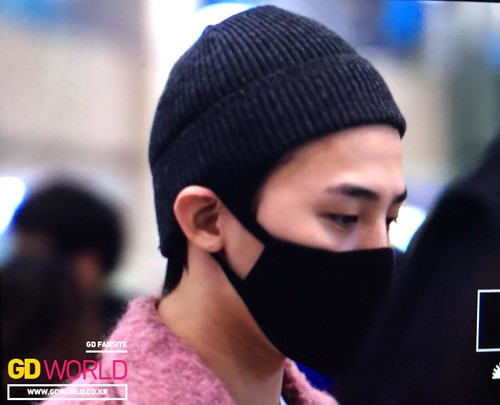 Big Bang - Incheon Airport - 22mar2015 - G-Dragon - GD World - 03
