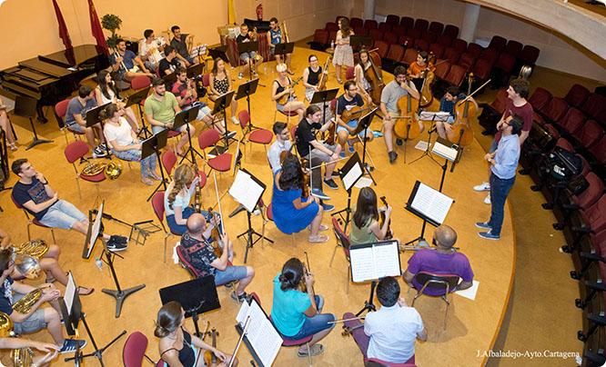 Cartagena vuelve a tener una orquesta sinfónica 65 años después