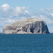 Bass Rock with Northern Gannet colony by dogtooth77