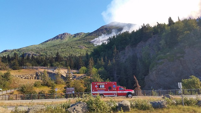 Turnagain fire 2