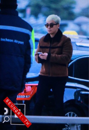 Big Bang - Incheon Airport - 27nov2015 - seungritw12 - 01