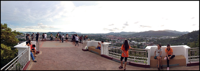 New Viewpoint at Rang Hill in Phuket Town