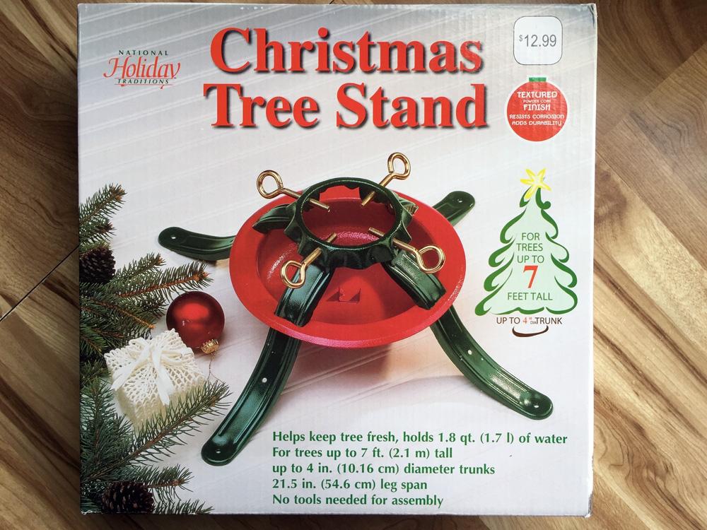 Christmas Tree Stand 1